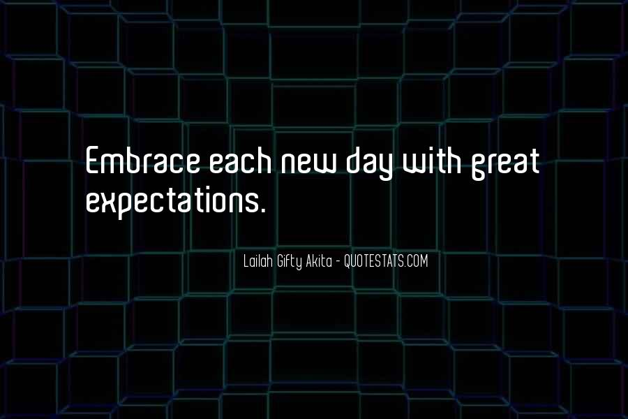 Quotes About Expectation Life #37543
