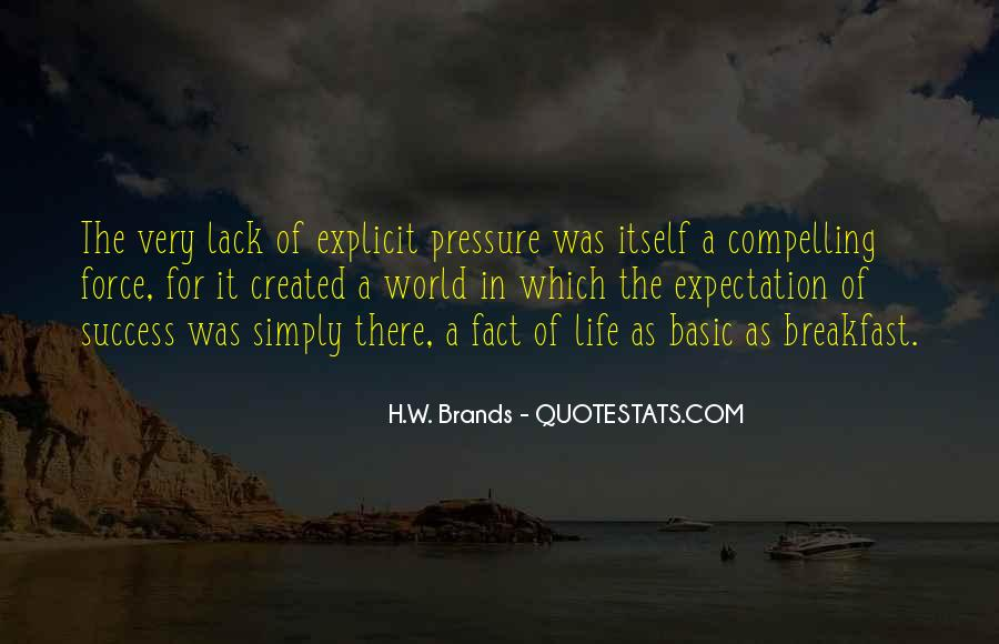 Quotes About Expectation Life #608506