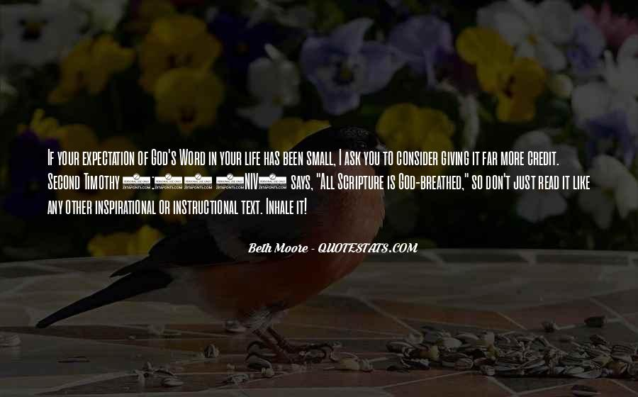 Quotes About Expectation Life #616973