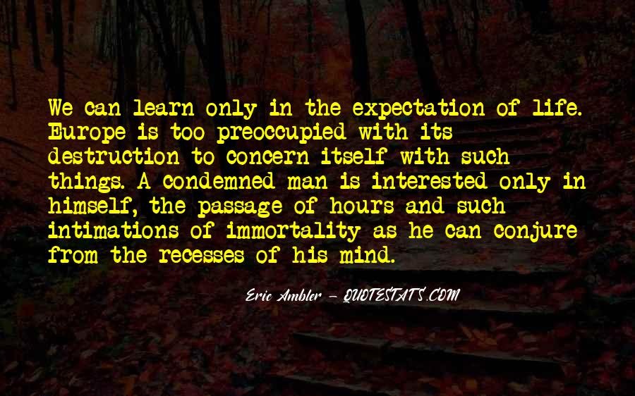 Quotes About Expectation Life #641368