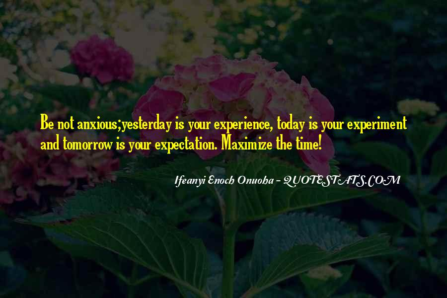 Quotes About Expectation Life #679448