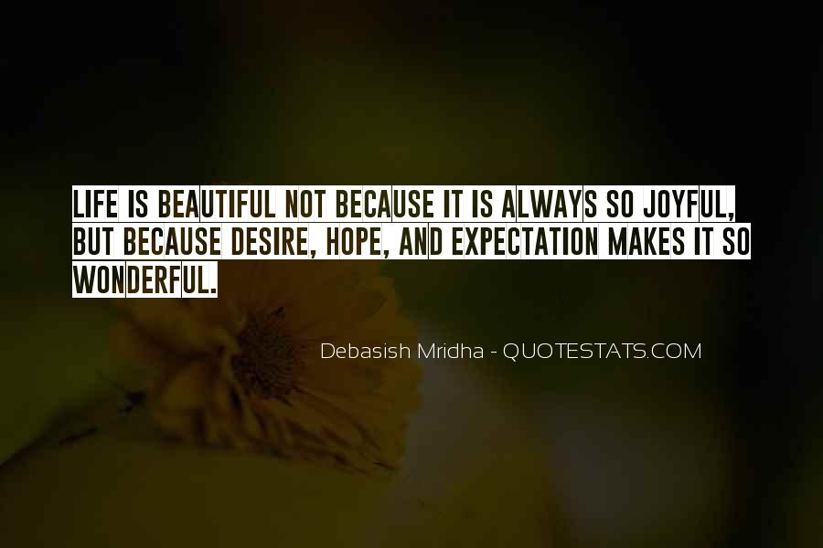 Quotes About Expectation Life #918839