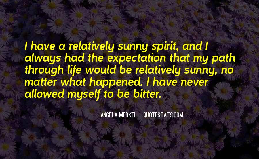 Quotes About Expectation Life #962118