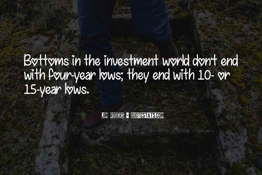Jim Rogers Investment Quotes #1280739