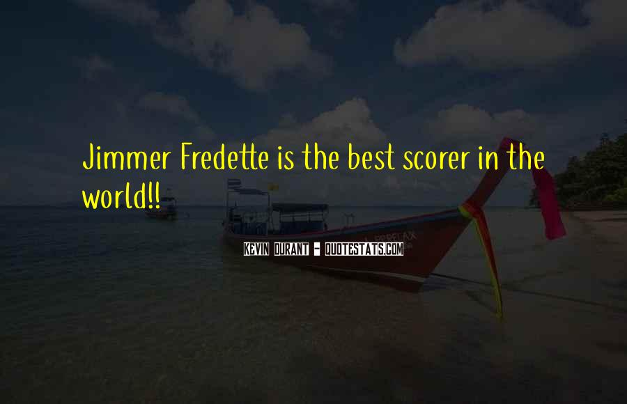 Jimmer Fredette Quotes #280732