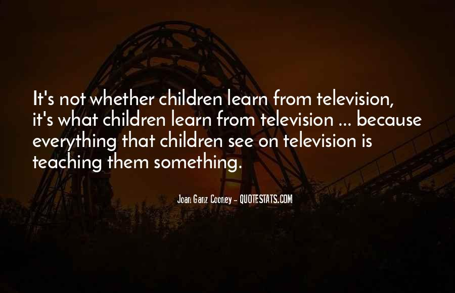 Joan Cooney Quotes #839001