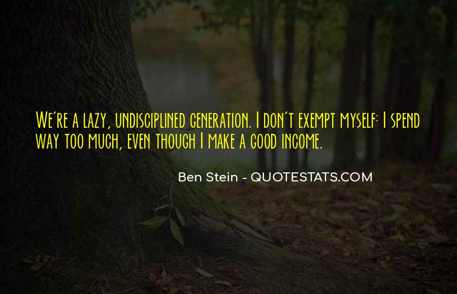 Quotes About Exempt #157880