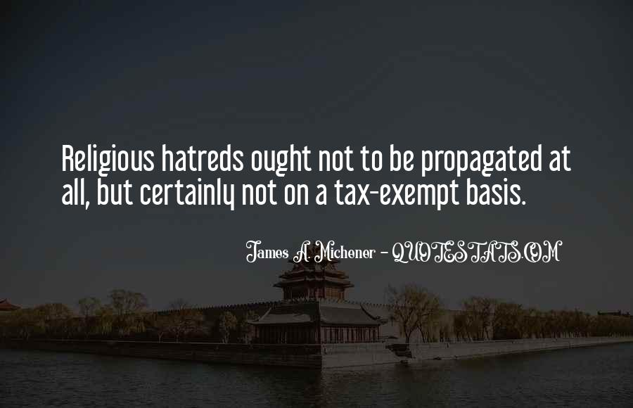 Quotes About Exempt #730303