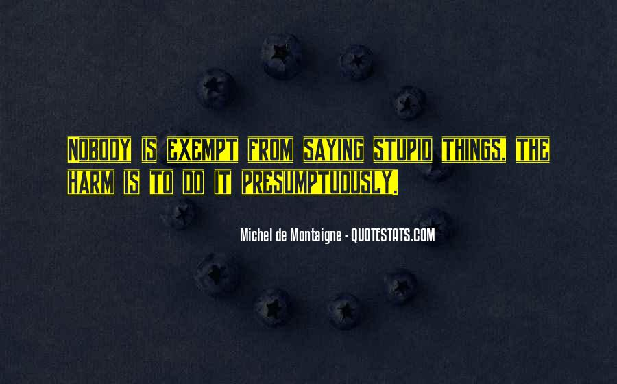 Quotes About Exempt #860084