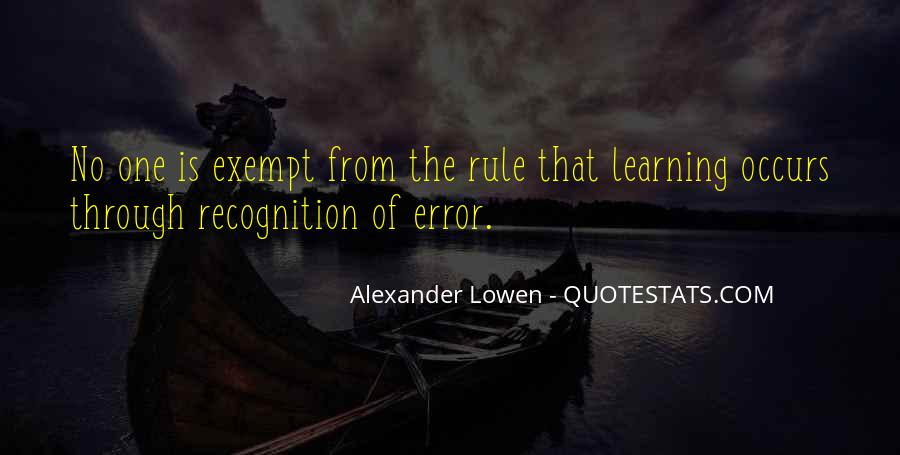 Quotes About Exempt #946558