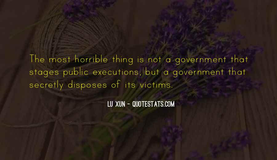 Quotes About Executions #1404890