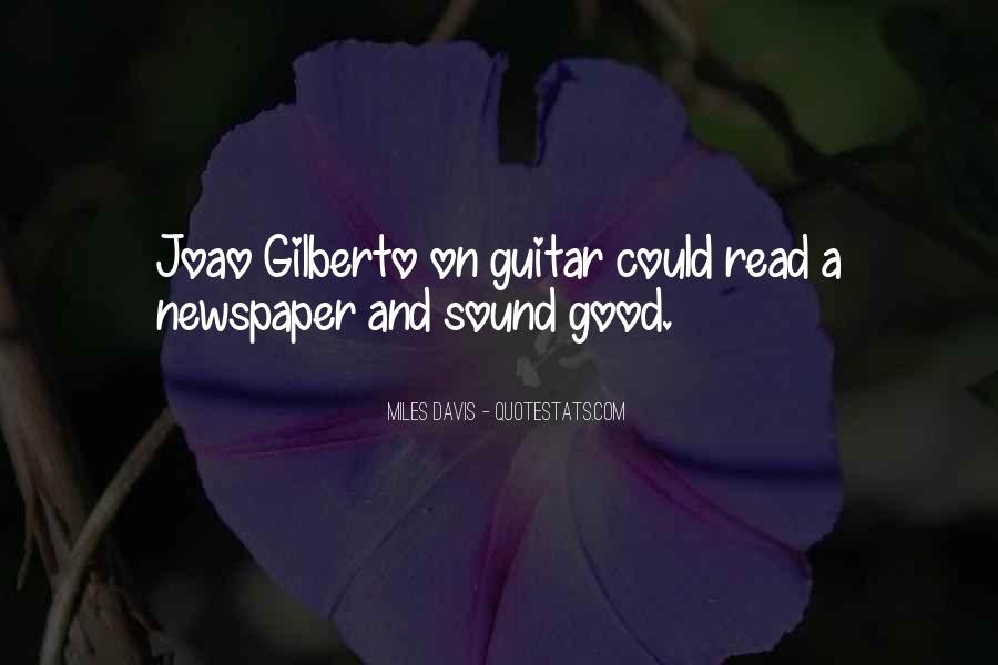 Joao Gilberto Quotes #1735470