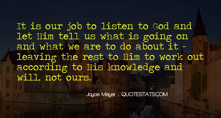Job And Work Quotes #78869