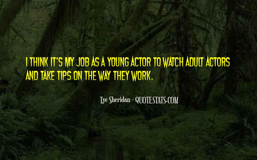Job And Work Quotes #87749
