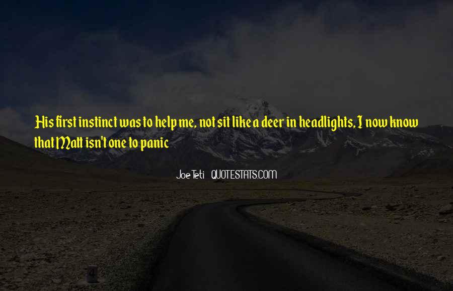 Joe Panic Quotes #803199