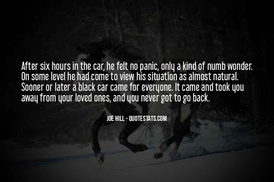Joe Panic Quotes #978844