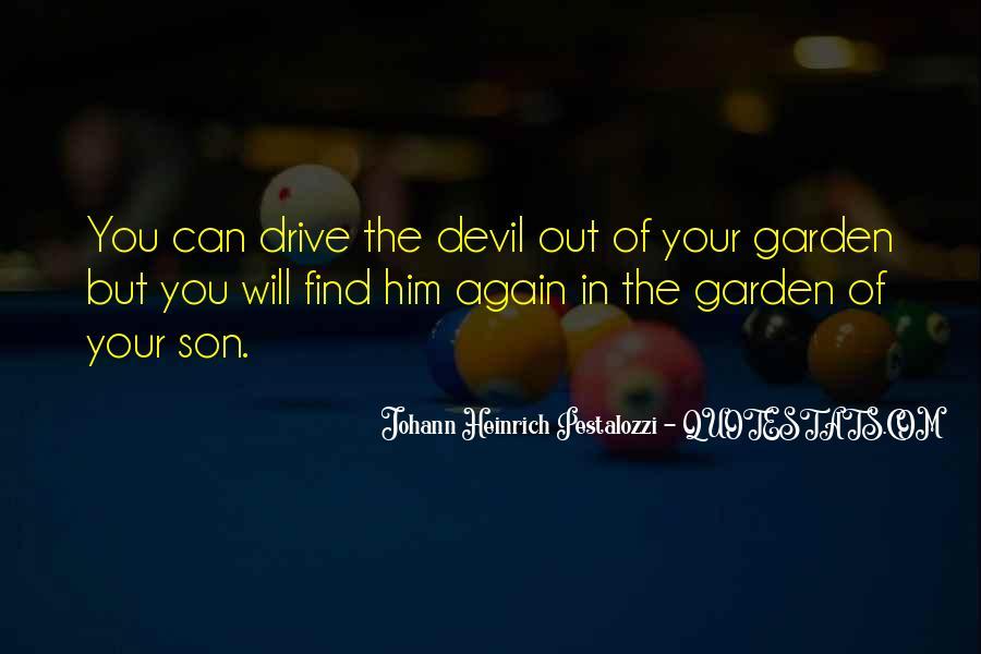Johann Pestalozzi Quotes #15440