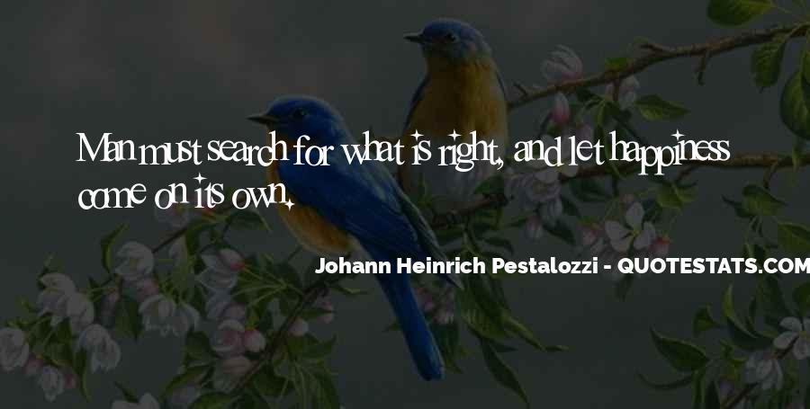 Johann Pestalozzi Quotes #1677711