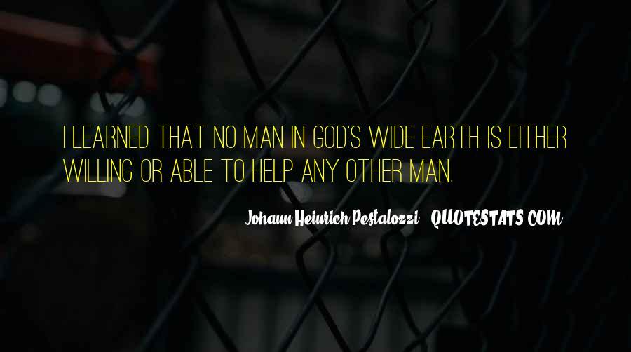 Johann Pestalozzi Quotes #606276