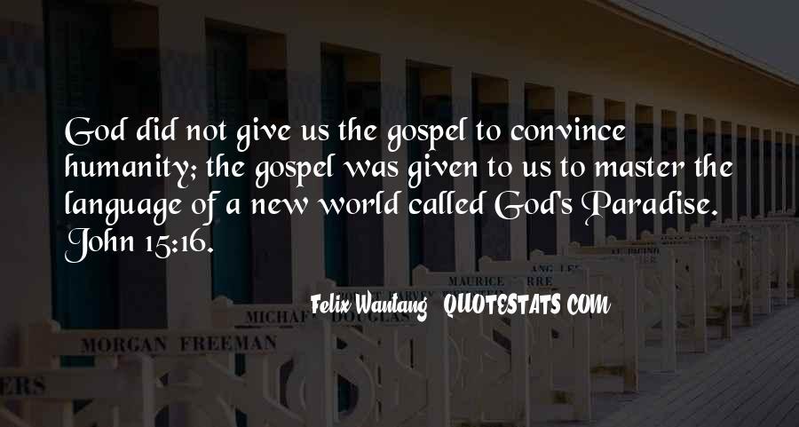 John 3 16 Bible Quotes #1065490