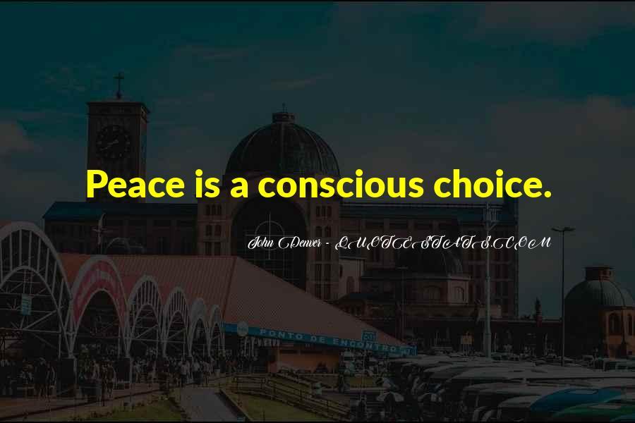 John A Peace Quotes #1081005