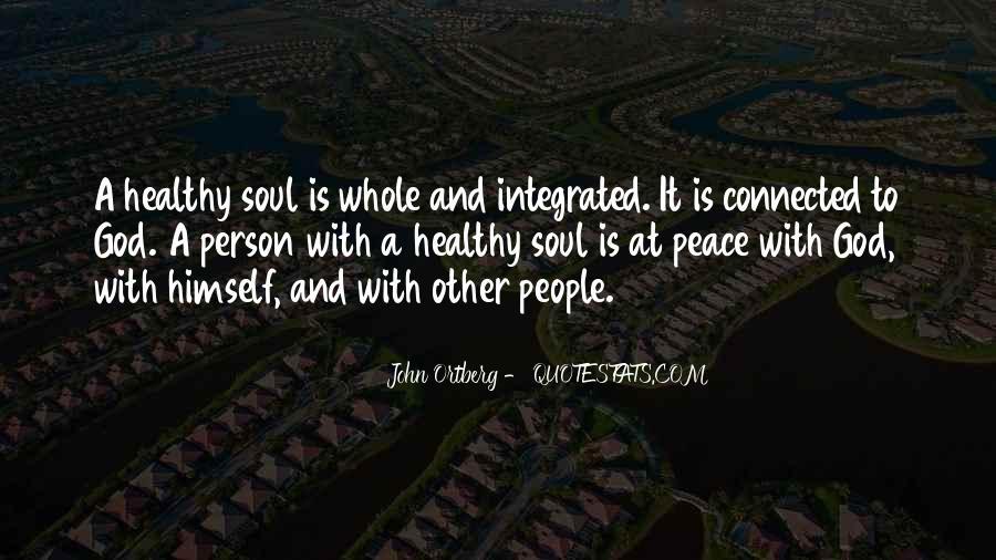 John A Peace Quotes #1101680