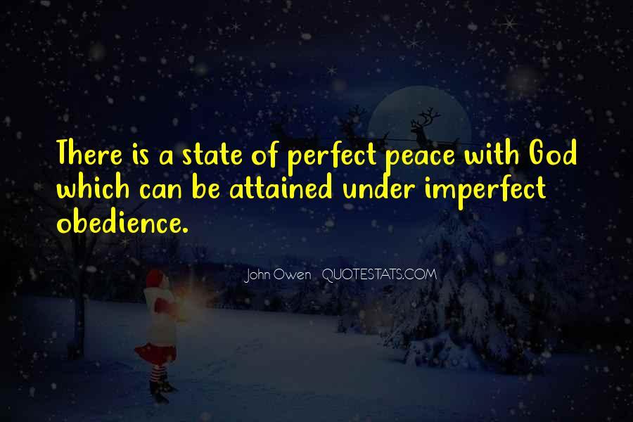John A Peace Quotes #1127049