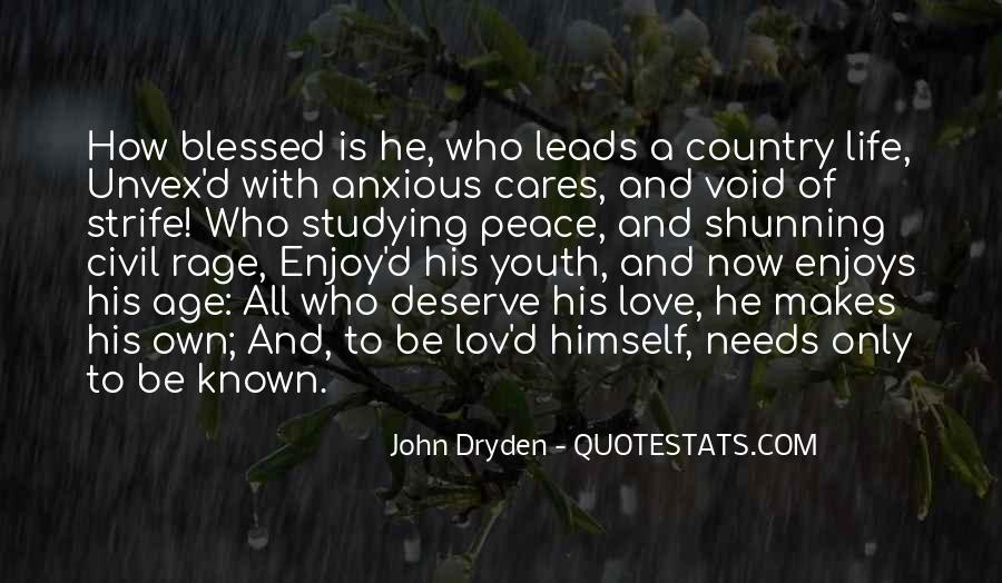 John A Peace Quotes #1155642