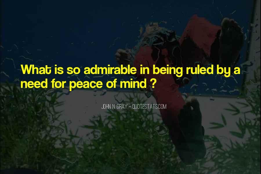 John A Peace Quotes #14003