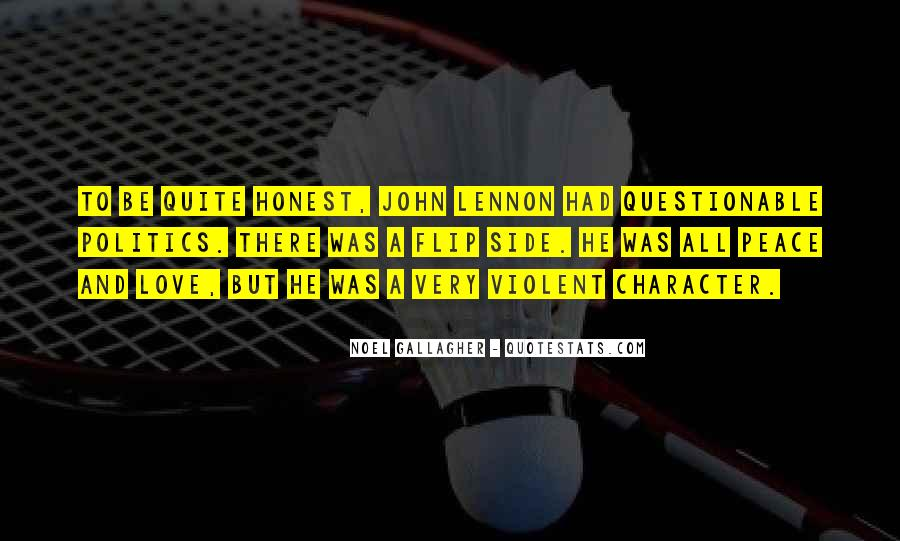 John A Peace Quotes #166179