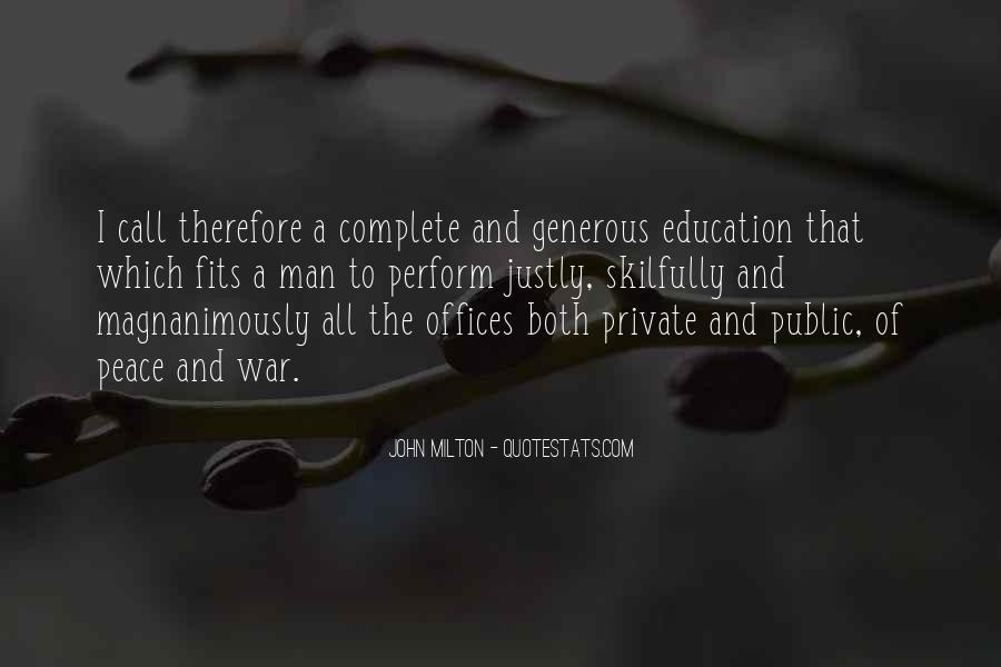 John A Peace Quotes #167682