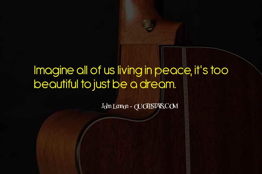 John A Peace Quotes #179179