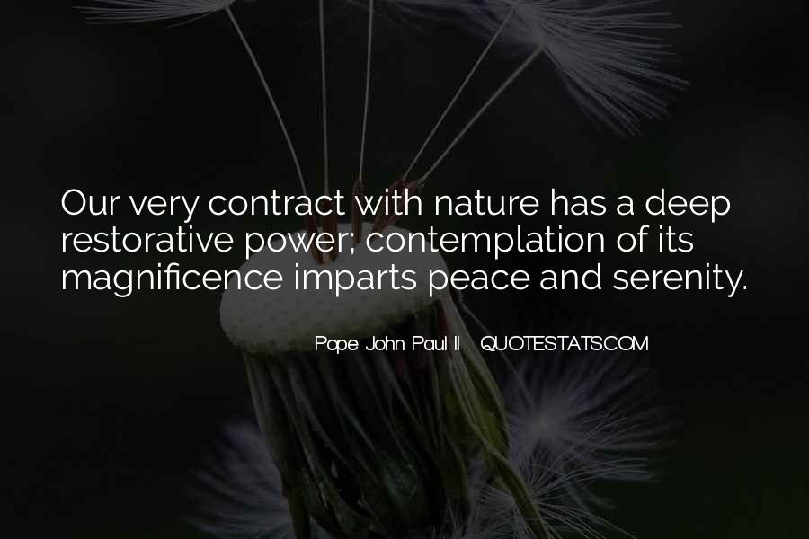 John A Peace Quotes #194034