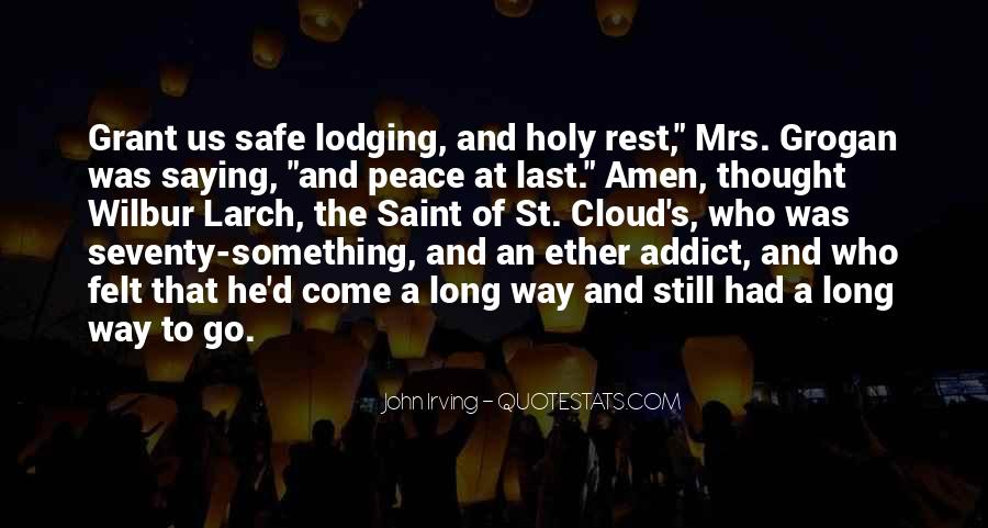 John A Peace Quotes #23052