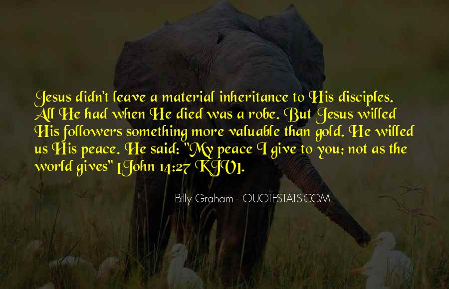 John A Peace Quotes #267309