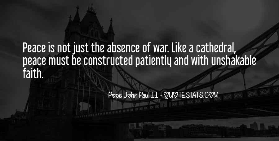 John A Peace Quotes #284290