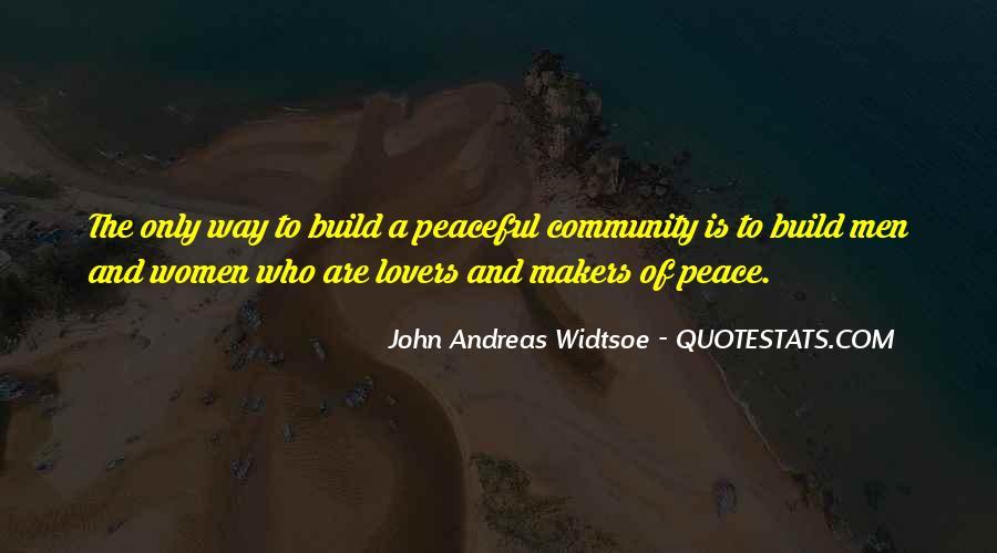 John A Peace Quotes #32925