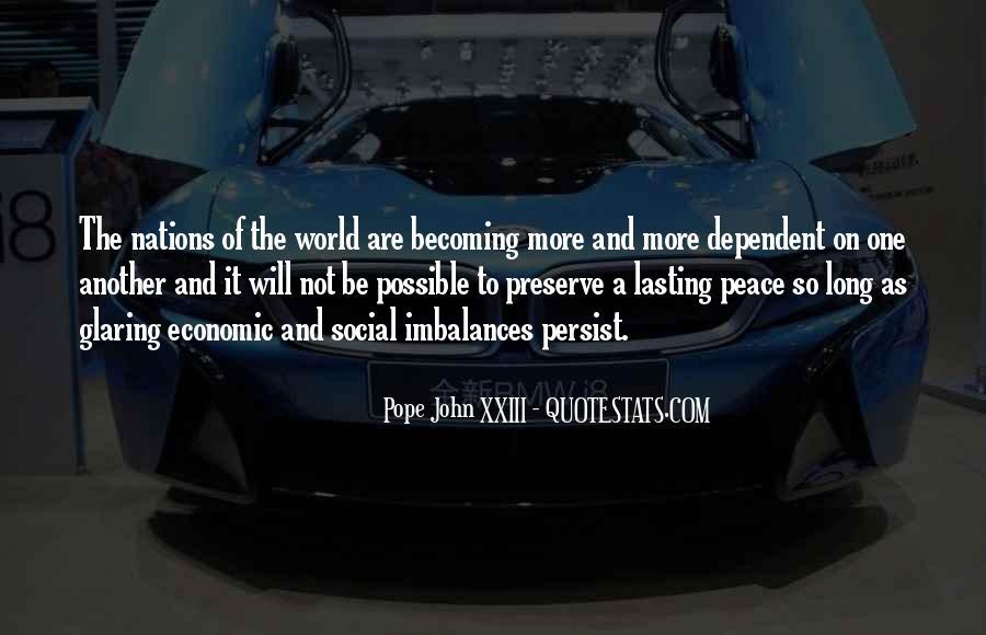 John A Peace Quotes #357092