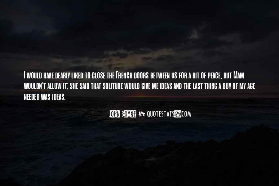 John A Peace Quotes #448504