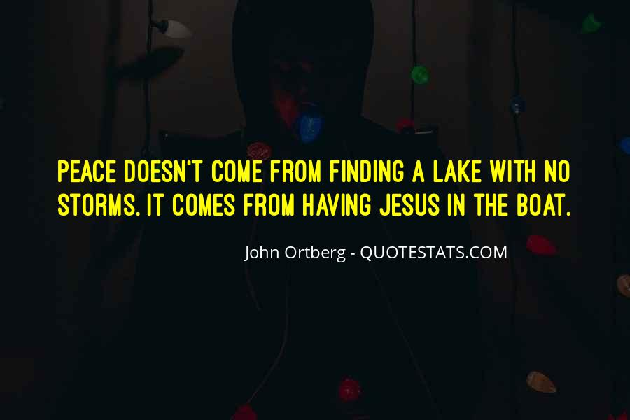 John A Peace Quotes #452725