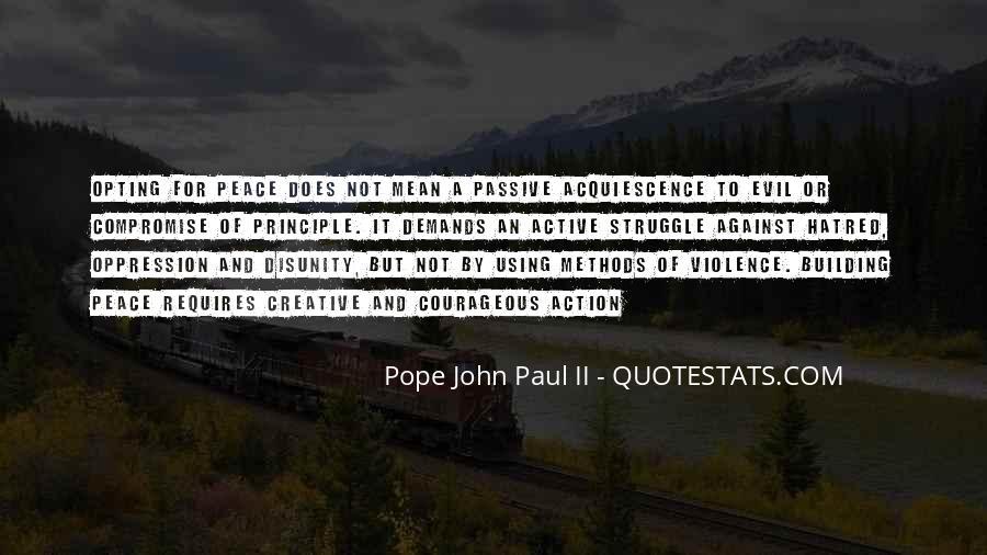 John A Peace Quotes #47250