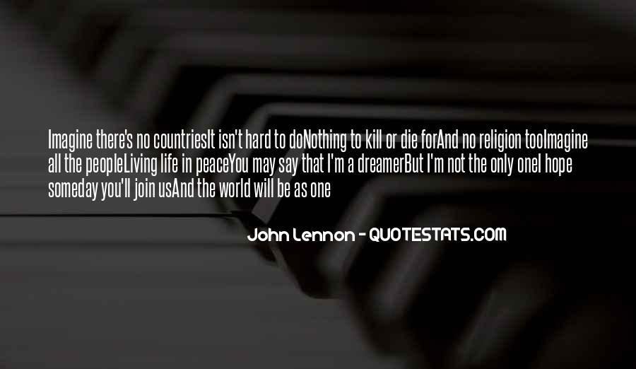 John A Peace Quotes #485484