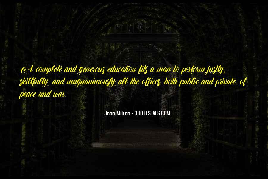 John A Peace Quotes #617177