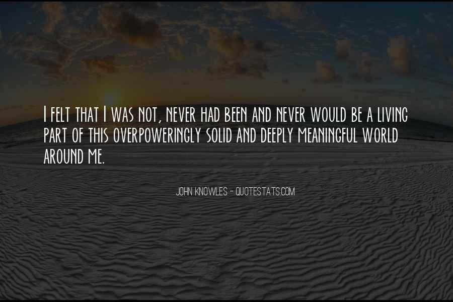 John A Peace Quotes #631708