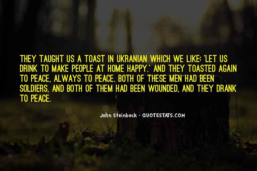 John A Peace Quotes #703095