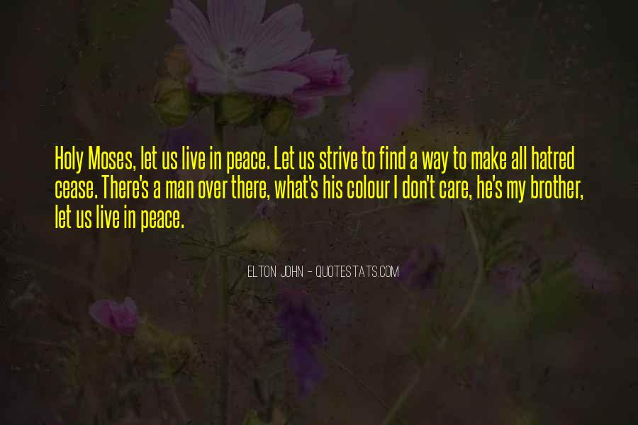 John A Peace Quotes #755197
