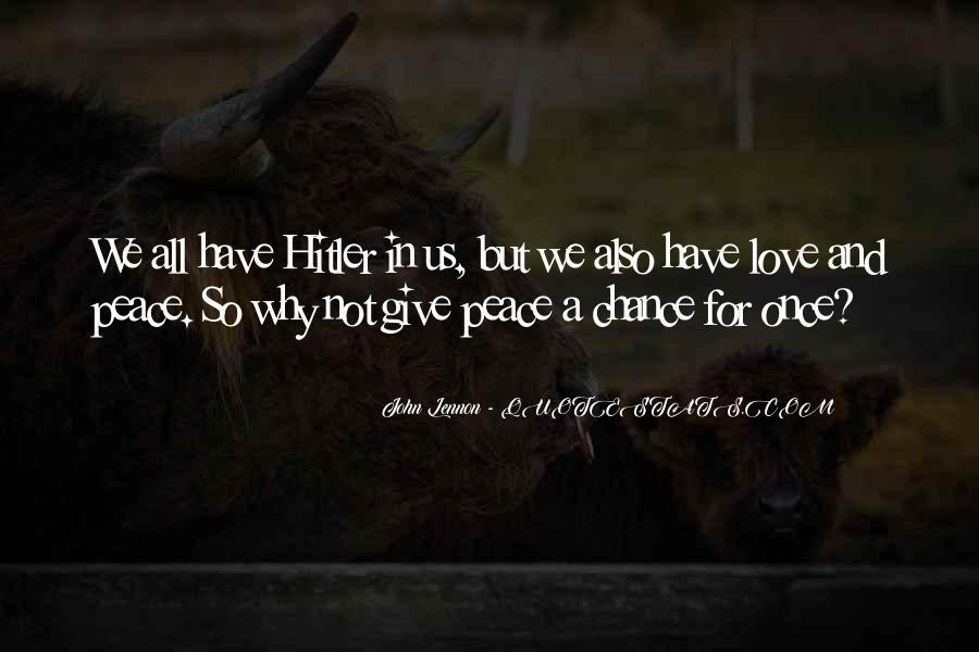John A Peace Quotes #775196
