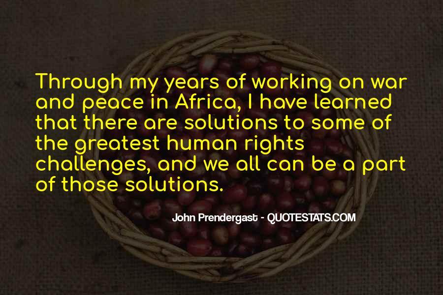 John A Peace Quotes #896297