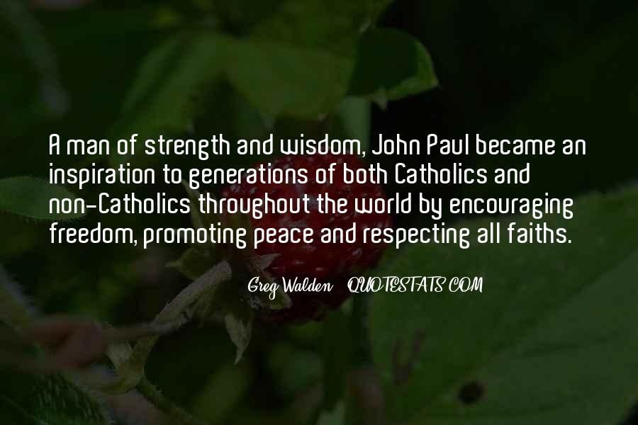 John A Peace Quotes #925934