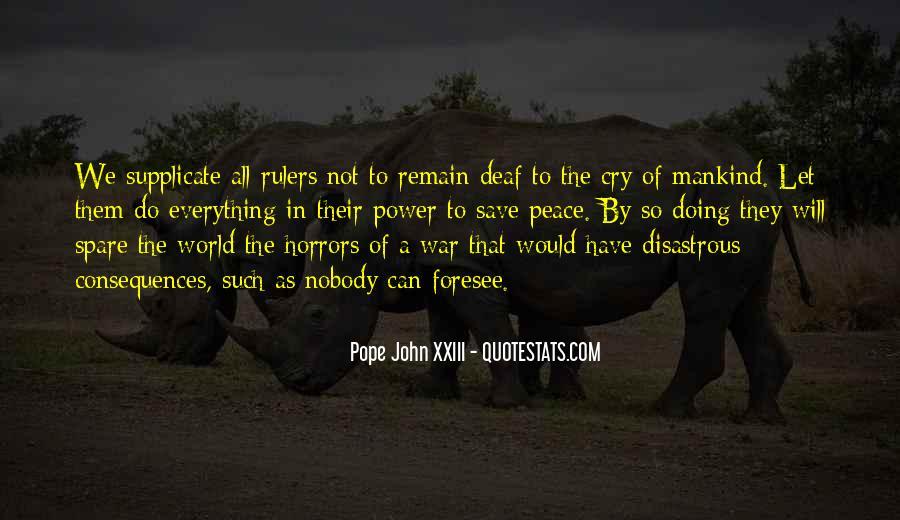 John A Peace Quotes #99157